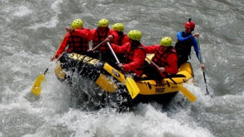wild water rafting tour