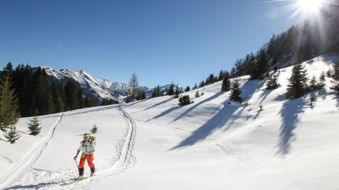 winter skitour in zell am see kaprun1
